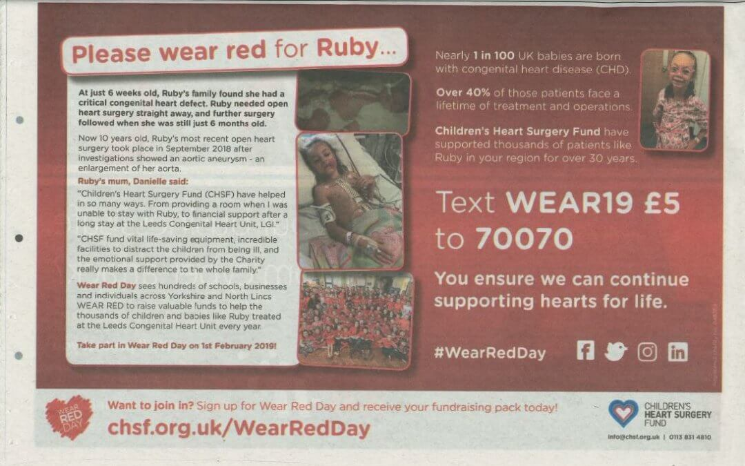 Wear Red Day 2019: Press Round-up