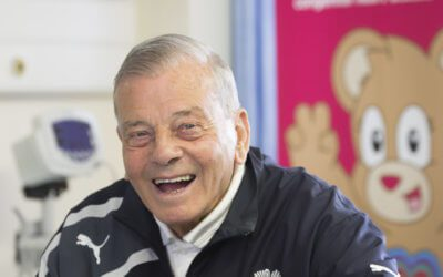 Legendary cricket umpire and commentator Dickie Bird OBE has donated £30,000 to Children's Heart Surgery Fund (CHSF), and become their new ambassador