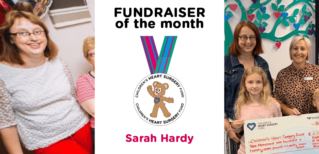 Fundraiser of the month – Sarah Hardy