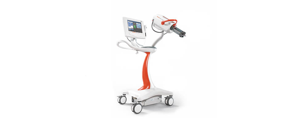 Pedestal Mounted Contrast Injector