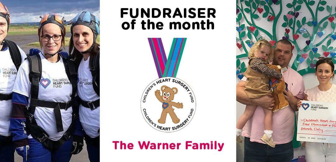 Fundraiser of the Month – The Warner Family
