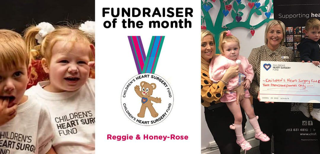 Fundraiser of the Month: Reggie & Honey-Rose