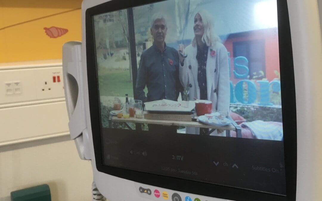 Bedside TVs for the Heart Ward!