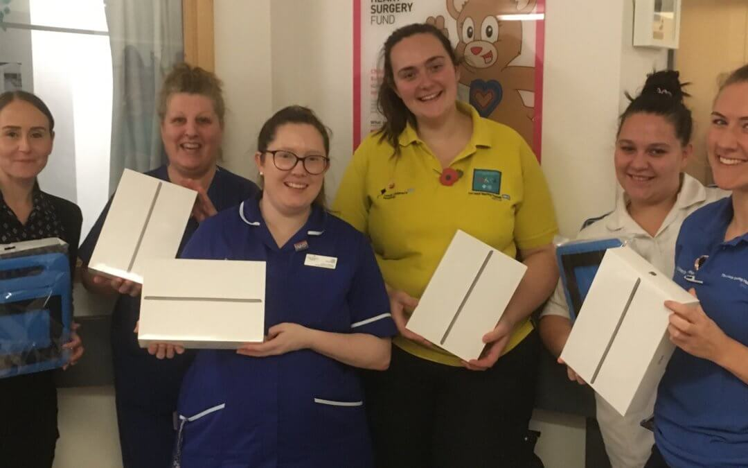 iPads for PICU