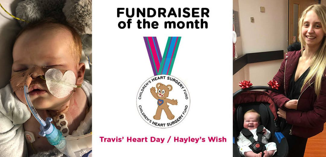 Fundraiser of the Month: Travis' Heart Day / Hayley's Wish