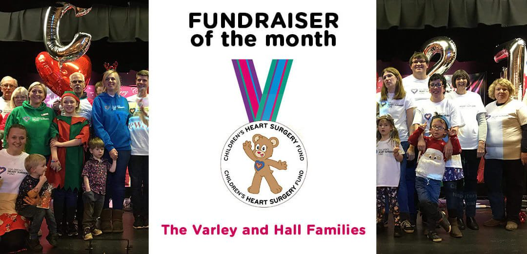 Fundraiser of the Month: The Varley and Hall families