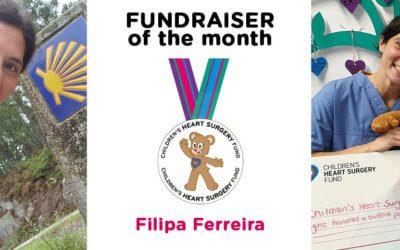 Fundraiser of the Month: Filipa Ferreira