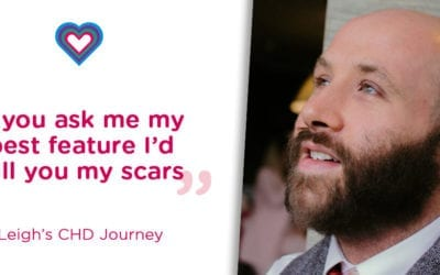 """If you ask me what is my best feature, I would tell you it's my scars."" Leigh's Story"