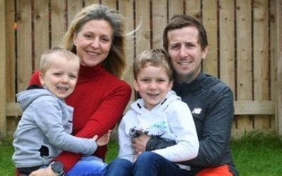 Dad-of-two who had a cardiac arrest while out running pays tribute to his life-savers