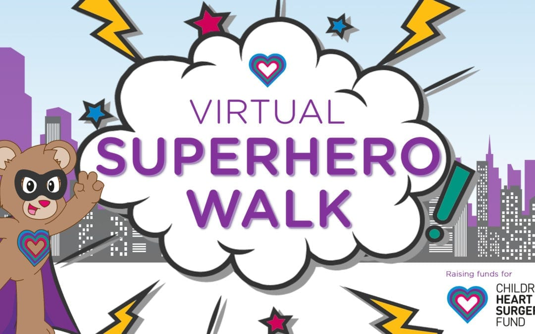 VIRTUAL SUPERHERO WALK