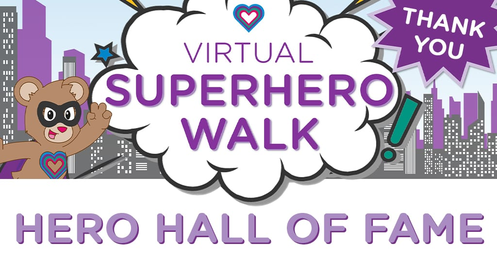 SUPERHERO WALK: Hero Hall of Fame