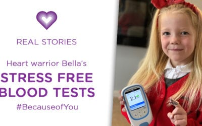 REAL STORIES: Bella's new INR Kit #BecauseofYou