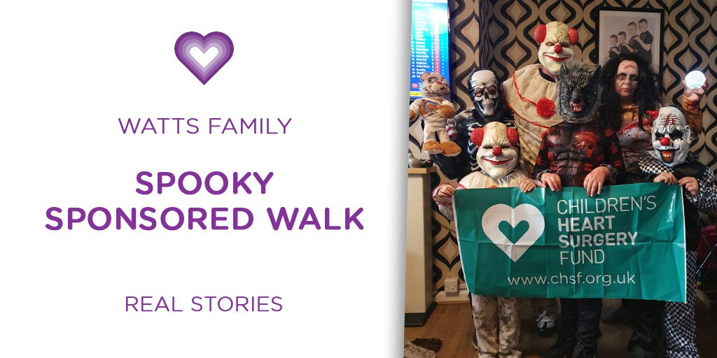 REAL STORIES: Watts Family's Spooky Sponsored Walk