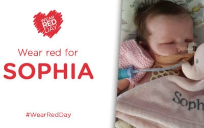 WEAR RED FOR SOPHIA