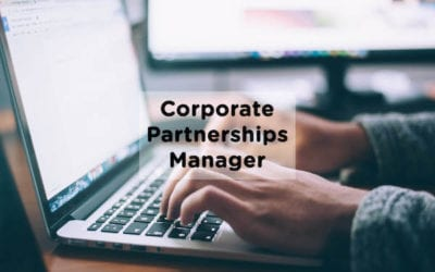 JOB OPPORTUNITY: CORPORATE PARTNERSHIPS MANAGER
