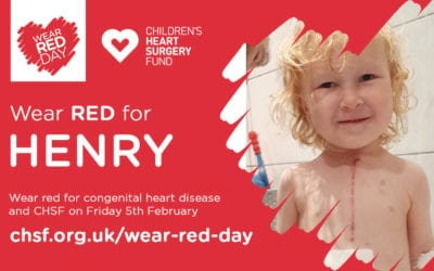 Wear Red for Henry