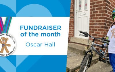 Fundraiser of the Month: Oscar's 40 Miles for February Bike Ride