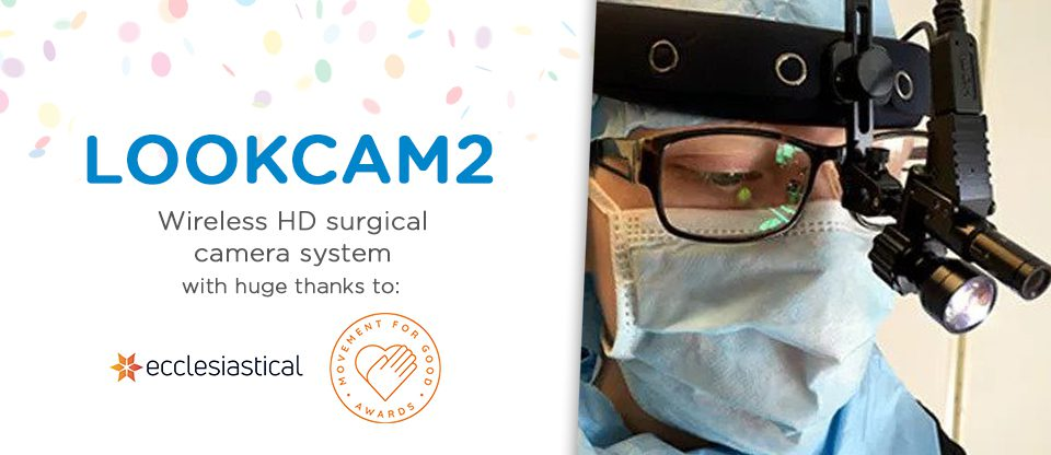 Surgical camera funded thanks to Ecclesiastical Insurance £1,000 boost