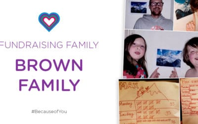 FUNDRAISING FAMILY: BROWN FAMILY