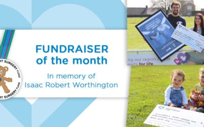 Fundraiser of the Month: In memory of Isaac Robert Worthington