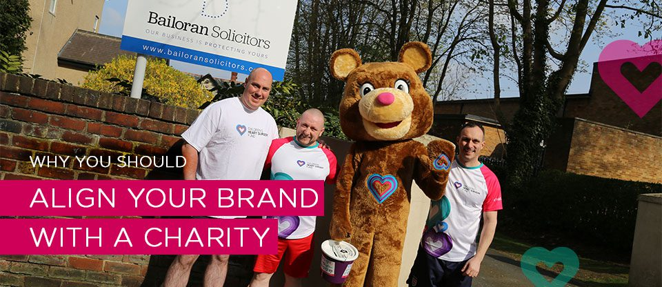 Why charity partnerships are a great way for businesses to align and grow their brand