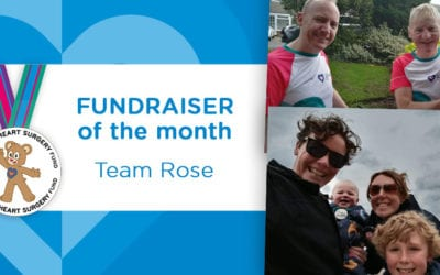 Fundraiser of the Month: Team Rose