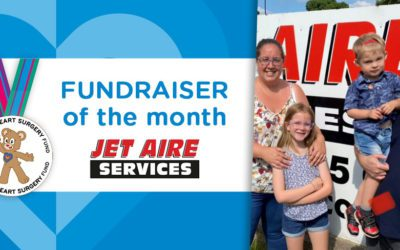 Fundraiser of the Month: Jet Aire